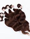 Kroppsvåg mänskligt hår väver brasiliansk konsistens 200g 12-14-16 mänskliga hårförlängningar