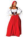 Costume menajeră bavareză Oktoberfest Costume Cosplay Costume petrecere Pentru femei Crăciun Halloween Carnaval Oktoberfest An Nou