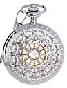 Ανδρικά Ρολόι Τσέπης μηχανικό ρολόι Αυτόματο κούρδισμα Ανοξείδωτο Ατσάλι Ασημί 30 m Ανθεκτικό στο Νερό Εσωτερικού Μηχανισμού Αναλογικό Πολυτέλεια - Ασημί