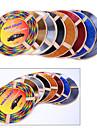 5 färger 4m / lot (volym) diy kupén luftkonditionering utlopp ventilera galler krom dekoration styling list