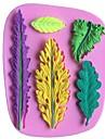 frunze în formă de frunze de fondant tort matrite de silicon de ciocolată, instrumente de decor bakeware