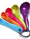 5pcs colorate unelte de copt linguriță dozatoare de înaltă calitate instrumente de tort 12x6x1cm