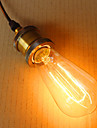 1 buc 40W E27 E26/E27 E26 ST64 K Incandescent Vintage Edison bec AC 220-240V V