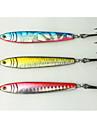 3 pcs Csali Tvrdi Mamac Šablone Metal Bait Metal Brzo Potonuće Morski ribolov Jigging Ribolov Trolling & Boat Fishing