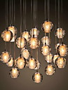 UMEI™ grup Lumini pandantiv Lumini Ambientale - Cristal, 90-240V, Alb Cald, Bec Inclus / G4 / 0-5㎡