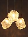 g4 15cm ligne 1m contemporain et contre-traite verre d\'art irregulier lustres lampe led led de chandelier