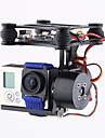 Brand CNC 2Axis Brushless Gimbal Camera Mount with Motor & Controller FPV PTZ for Gopro3 3+ 4 DJI Phantom 2 3 Kardansk upphängning Barn