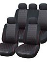 5 sittplatser universalt bilsäte täcke textilmaterial fordonssäte coler (9 st per set)
