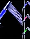 Contemporan Duș de Mână Crom Caracteristică - LED, Cap de dus