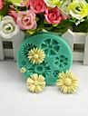 Moule de Cuisson Fleur Chocolat Tarte Gateau Silicone Economique Haute qualite 3D