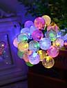 6.5m 30 de bule formă de sârmă lumina lumina lumina nunta lumini decorare lumina