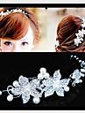 Pentru femei Mată Draguț Petrecere, Imitație de Perle Zirconiu Cubic Argilă Aliaj Băț Păr