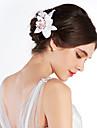 Cristal Material Textil Diademe Flori 1 Nuntă Ocazie specială Party / Seara În aer liber Diadema