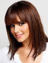 Menschliches Haar Capless Peruecken Echthaar Glatt Kappenlos Peruecke / Gerade