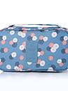 Resenecessär Bagageorganisatör Bärbar Packpåsar för Kläder BH Nylon / Blommig