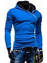 A bărbaților Seturi ActiveWear A bărbaților Casual / Muncă / Formal / Sport / Mărime Mare Manșon Lung Bumbac Pur