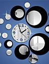 Rotund Modern/Contemporan / Informal / Birou / Afacere Ceas de perete ,Vacanță / Case / Inspirațional / Școală/Absolvire / Prieteni / Zi