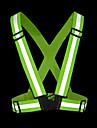 Skadeförebyggande Reflekterande Pryl Reflexkant Mjuk Snösäker Justerbara Vattentät Reflexremsa MångsidigSkridsko Motorcykel Vintersport