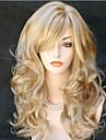 Perruque Synthetique Boucle Cheveux Synthetiques Blond Perruque Femme Long Perruque Halloween / Perruque de carnaval Sans bonnet