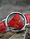 Pentru femei Quartz Ceas de Mână Ceas Casual Piele Bandă Charm Modă Negru Alb Albastru Roșu Pink