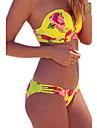 Pentru femei Bikini Floral Halter Pantaloni
