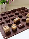 bakformen För Tårtor För Godis för choklad Silikon Miljövänlig DIY 3D