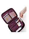 Resväska Resenecessär Kosmetisk påse Bagageorganisatör Vattentät Damm säker Packpåsar för Kläder Polyester / Dam Resor