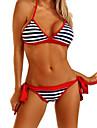 Femei Bikini Femei Bustieră Monocolor Ajustabile Bumbac / Spandex
