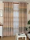 Două Panouri Tratamentul fereastră Modern Sufragerie Poliester Material Blackout Perdele Draperii Pagina de decorare For Fereastră