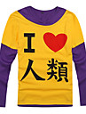 Inspire par No Game No Life Cosplay Manga Costumes de Cosplay Cosplay a Capuche Imprime Manches Longues Manteau Pour Masculin Feminin