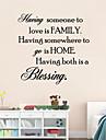 ha någon att älska är familje citationstecken vägg klistermärke Bessing hem väggdekaler