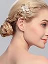 imitație de perle de păr pieptene pantofi stil clasic feminin