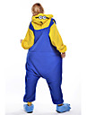 Noul Cosplay Pijama Din Fleece de Adult Cu Model Animat Despicable Me Kigurumi