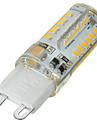 G9 Becuri LED Bi-pin Spot Încastrat 58 led-uri SMD 3014 Intensitate Luminoasă Reglabilă Decorativ Alb Cald Alb Rece 400-500lm 3500/6500K