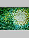 Mini-mărime pictat manual abstract ulei de artă modernă pe panza un panou gata să stea