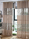 Sheer Curtains Shades Living Room Solid Colored Stripe Cartoon Curve Animal Geometic Polyester Print & Jacquard