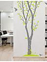 Djur fågel väggdekal botaniska / landskap vägg klistermärken plan vägg klistermärken, pvc 150 * 223cm