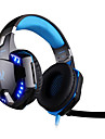 kotion fiecare gaming g2200 căști USB 7.1 surround, sistem de căști stereo vibrații microfon rotativ condus