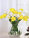 10 Gren PU Lilja Bordsblomma Konstgjorda blommor