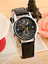 Bărbați Quartz Ceas de Mână cald Vânzare PU Bandă Charm Negru Albastru Maro