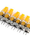 6pcs 2W 200 lm G4 Becuri LED Bi-pin MR11 1 led-uri COB Decorativ Alb Cald Alb Rece AC 12V DC 12V