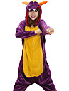 Kigurumi Pijamale balaur Costume Coral Fleece Kigurumi Leotard / Onesie Cosplay Festival / Sărbătoare Sleepwear Pentru Animale Halloween
