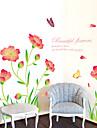 Romance / Mode / Floral / Paysage Stickers muraux Stickers avion,PVC 60*90CM