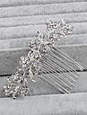 Rhinestone Hair Combs with 1 Wedding / Special Occasion / Casual Headpiece