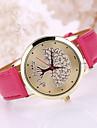 Pentru femei Ceas La Modă Quartz Ceas Casual Piele Bandă Negru Alb Albastru Roșu Maro Pink
