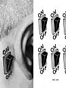 1 Tatueringsklistermärken Annat VattentätDam Herr Vuxen Blixttatuering tillfälliga tatueringar