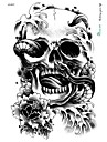 Tatuaggi adesivi Tatuaggi temporanei Art deco Impermeabile / 3D arti del corpo Viso / braccia / braccio