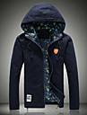 Bărbați Jachetă Șic & Modern-Mată,Monogramă