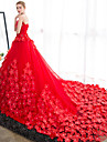 rochie de mireasa strapless catedra tren satin rochie de mireasa cu flori de mireasa brodata