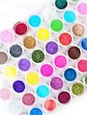 45st blanda färg nagel konst akryl pulver nagel konst dekoration